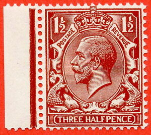 SG.N35 ( UNLISTED ). 1½d deep bright chestnut. A very fine UNMOUNTED MINT.