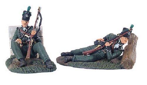 BRITAINS SOLDIERS 36086 - 95th Rifles Defending Set No.1