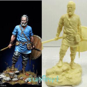 1-32-Unpainted-Irish-Viking-Invader-Figure-Resin-Statue-Model-Kits-GK-Unassemble