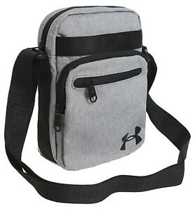 Bronceado Betsy Trotwood interfaz  Under Armour Cross Body Bags Messenger Gray Running Casual GYM Bag  1327794-035 | eBay