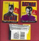 1989 Topps Batman 1st series single Wax Pack
