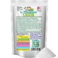 50g (250 Servings) L-theanine Powder (package)