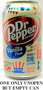 Dr-Pepper-Vanilla-Float-USA-2014-UNOPEN-EMPTIED-12oz-American-Limited-Edition