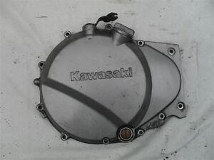 Kawasaki-ER5-Clutch-Casing-Cover-ER500-Silver