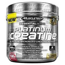 MuscleTech Platinum 100% Ultra-Pure Micronized Creatine Powder 400g 80 SERVINGS