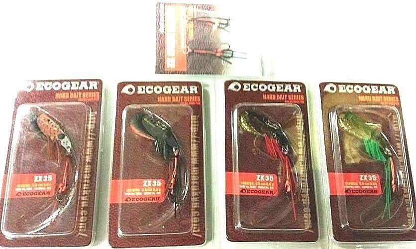 Ecogear hard bait sinking ZX353.5cm, 5g    412,416,418,419 bream blades