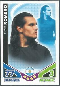 .TOPPS MATCH ATTAX WORLD CUP 2010-ARGENTINA-SERGIO ROMERO