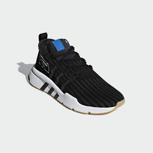 Support EQT Mid sneakers bluee black B37413 Adidas shoes Men