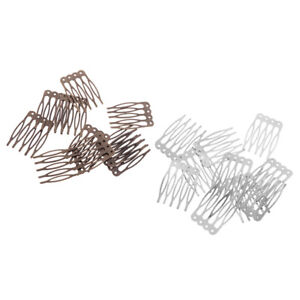 20Pcs-Metal-Blank-Wire-Hair-Combs-Hair-Clips-Pins-for-Bridal-Veil-DIY-Crafts