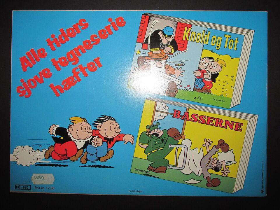 Tegneserier, Bassernes års hæfte 1984.