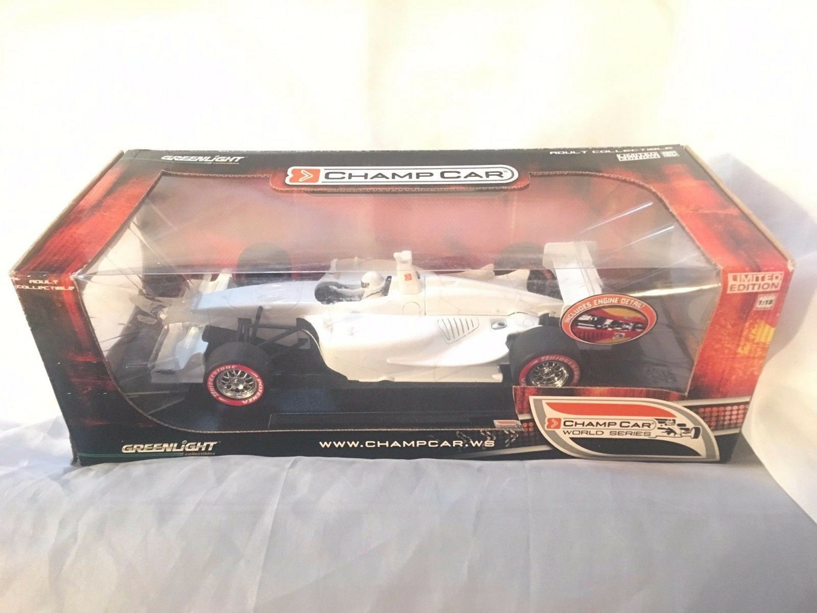 Greenlight COLLECTION  1 18 LIMITED EDITION CHAMP CHAMP CHAMP CAR WORLD SERIES,NEW,SEALED 7d7bc8