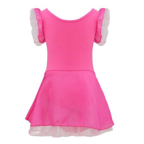 Girls Ballet Dance Dress//Tutu Leotard Gymnastics Fancy Fairy Dancewear Costume