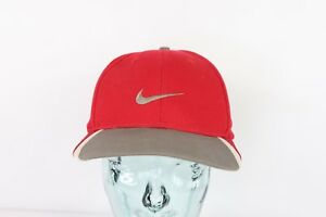 4823e844e39 Vintage 90s Nike Golf Tiger Woods Swoosh Logo Adjustable Dad Hat Cap ...