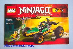 Instruction Manual Only 70755 LEGO Ninjago Jungle Raider