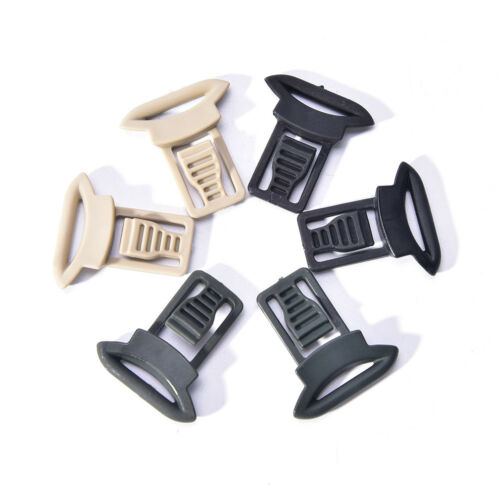 2x Fast Helmet Vision Goggle Buckles Clips Airsoft Tactical Helmet AccessoryR Tg