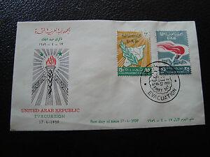 Umschlag 1 Syrien z cy68 Hell Und Durchscheinend Im Aussehen Tag 17/4/1959
