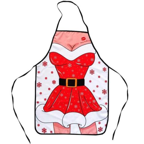 Creative Christmas Apron Kitchen Aprons Funny Home Xtmas Party Cooking BBQ Tool