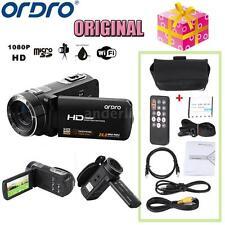 ORDRO HDV-Z8 1080P Full HD Digital Video Camera Camcorder 16× Zoom LCD 24MP C7J4