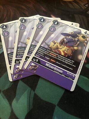 Wizardmon bt2-071 DIGIMON card game