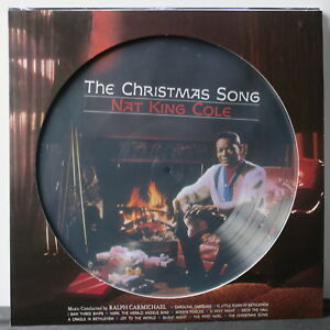 NAT-KING-COLE-039-Christmas-Songs-039-Picture-Disc-Vinyl-LP-NEW