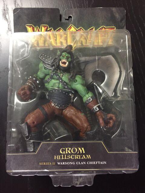 NEW Grom Hellscream Warcraft III Series 2 Toycom Action Figure Blizzard NIB