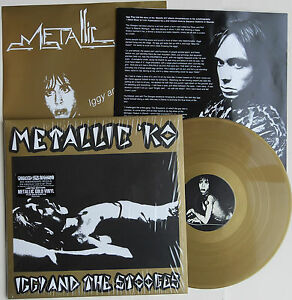 IGGY-AND-THE-STOOGES-039-Metallic-KO-039-limited-GOLD-vinyl-LP-gold-poster-Iggy-Pop