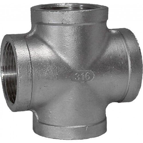 "1//2/"" BSP Cross 316 in acciaio inox 150lb raccordo del tubo"