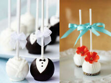 Lollipop Sticks Candy Cake Chocholate Sugar Paste Tools 50pcs 15CM