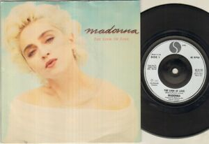 MADONNA-The-Look-Of-Love-7-034-VINYL-Silver-Label
