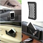 Black Auto Car Storage Net Resilient String Bag Phone Coins Pocket Organizer