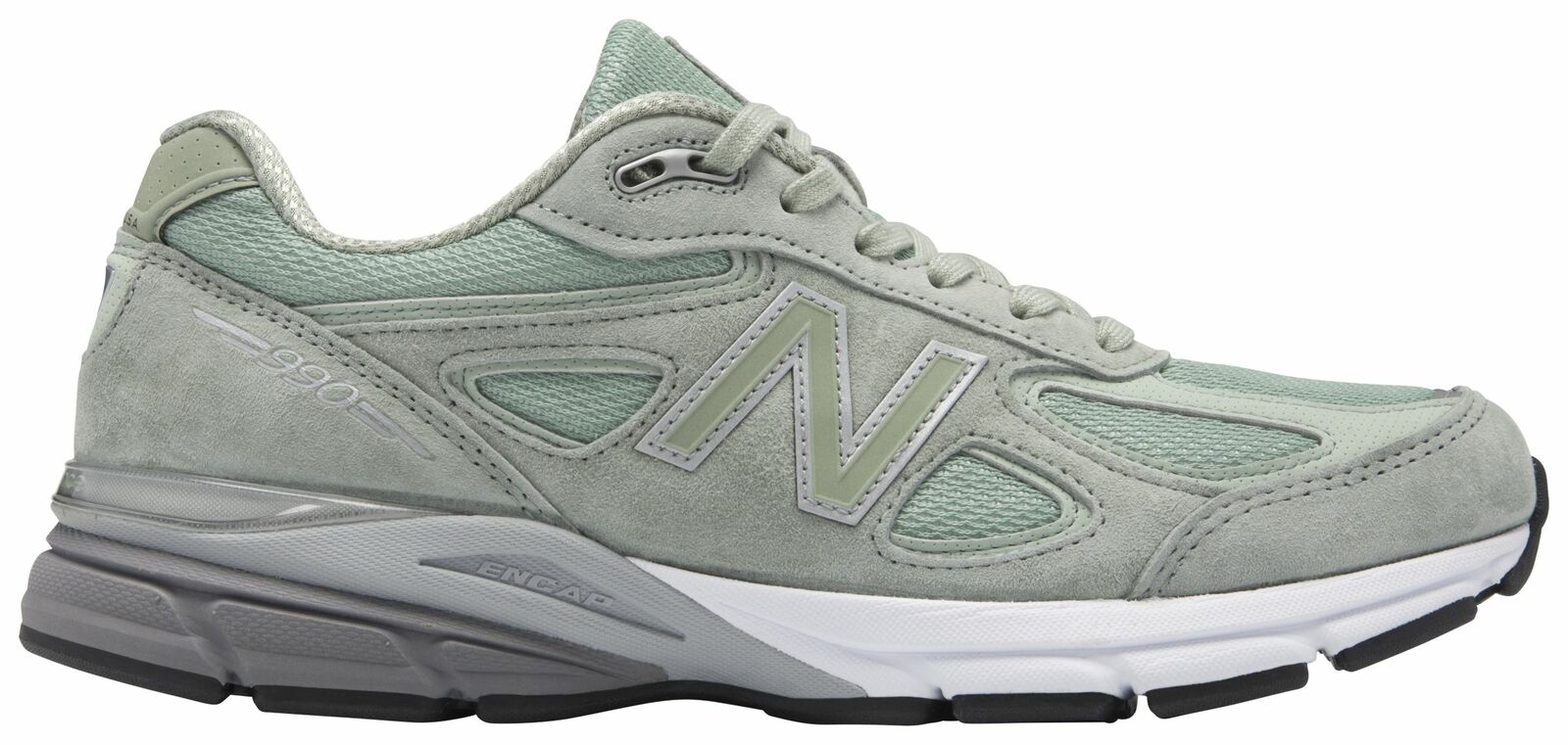 New Balance Homme 990V4 Made in US Chaussures Vert
