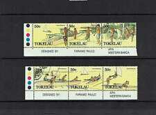 Tokelau Islands: 1989 Food Gathering, MNH set
