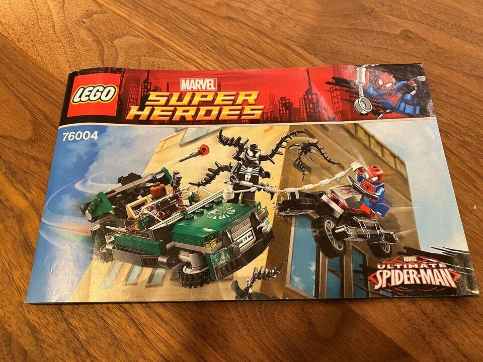 Lego Super heroes, SpidercycleChase 76004