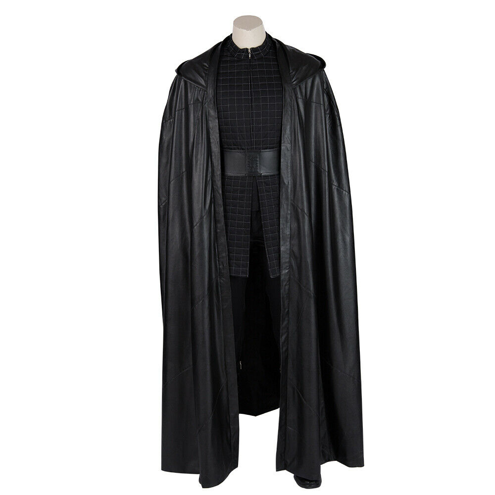 Cosonsen Star Wars 9 The Rise of Skywalker Kylo Ren Costume Cosplay Outfits Lot