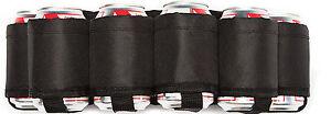 Beer-Belt-Red-Neck-Beer-Holster-Beverage-Belt-Holds-6-Beers-Black