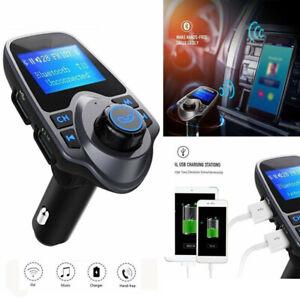 Bluetooth-Car-FM-Transmitter-MP3-Player-Radio-Wireless-Adapter-Kit-2-USB-Charger