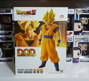 Figure-Dimension-of-Dragonball-Z-DOD-Super-Saiyan-Son-Gokou-MegaHouse-nuovo