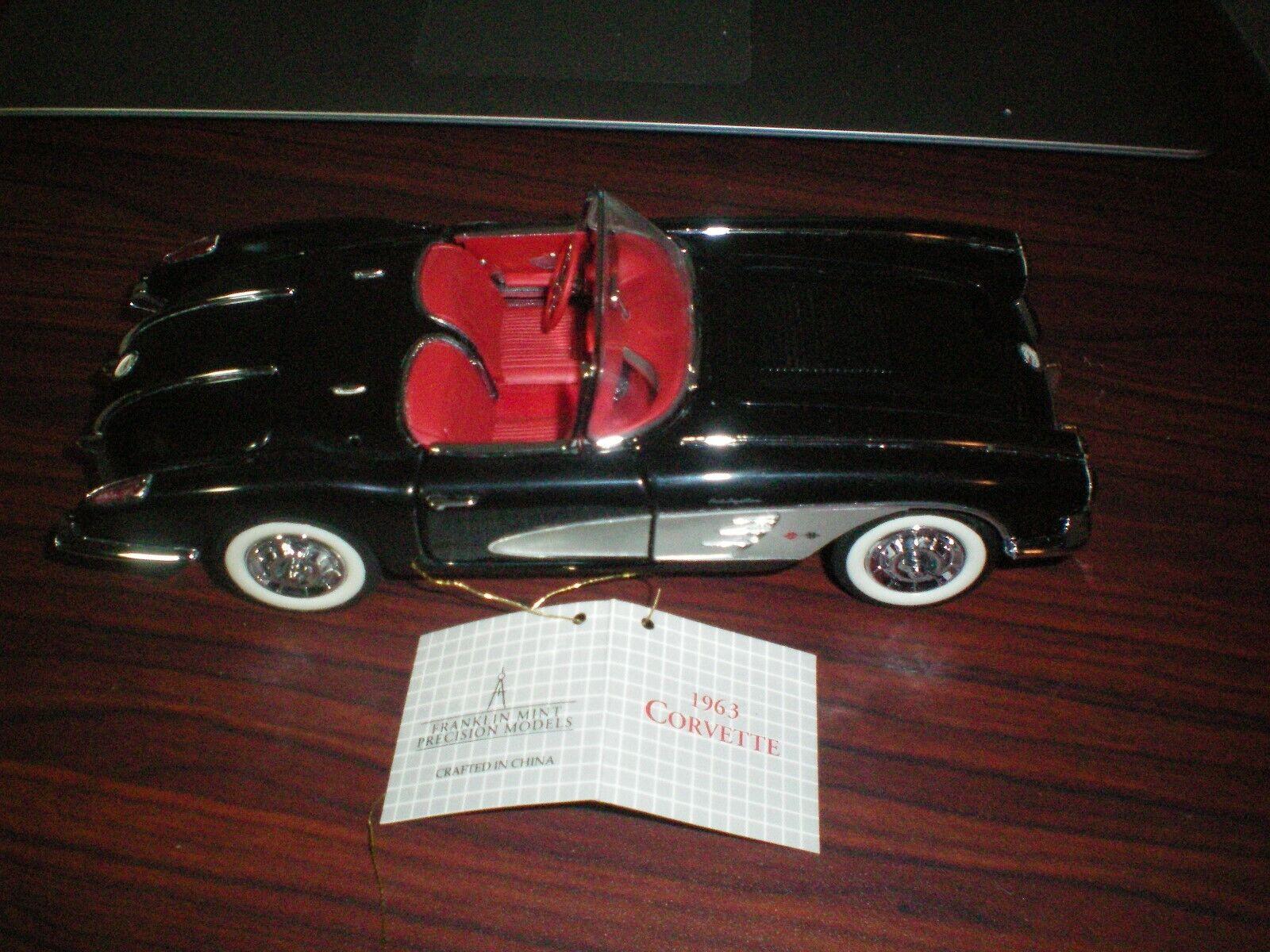 Franklin Nuovo di zecca 1958 Corvette Converdeibile nella scatola originale