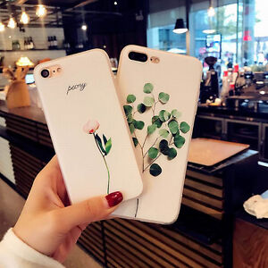 timeless design b7896 4755c Details about For iPhone 8 X 6s 7 Plus Cute Flower Floral Pattern Soft TPU  Silicone Case Cover