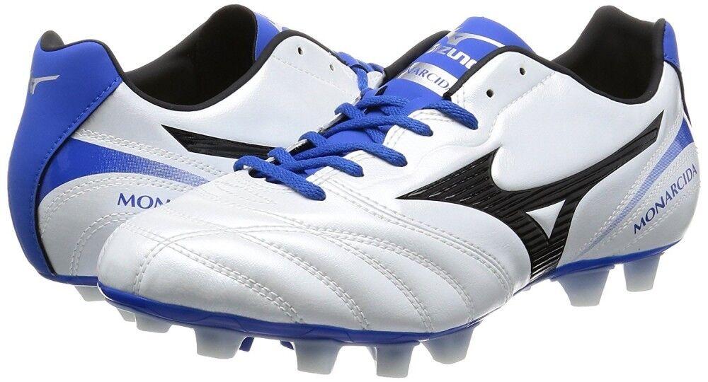 nuovo MIZUNO Soccer Footbtutti Spike MONARCIDA 2 SW MD P1GA1722 bianca US9.5 27.5cm
