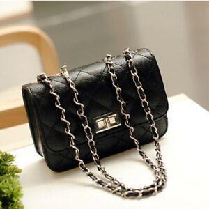 Women-Ladies-PU-Leather-Shoulder-Crossbody-Bag-Satchel-Handbag-Tote-Messenger