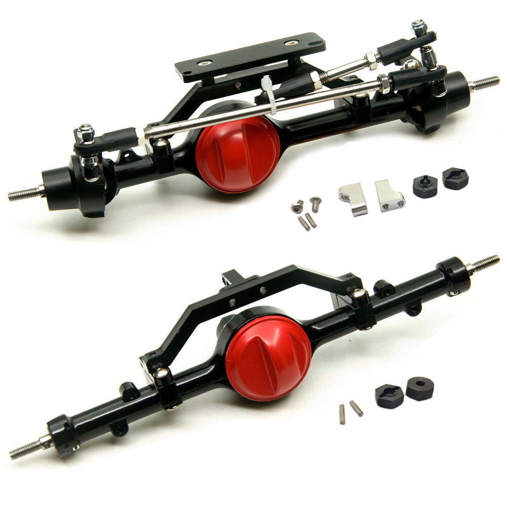 ARB Edition Complete Aluminum Front & Rear Axles For 1/10 RC Crawler D90