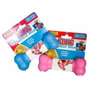 Kong-Goodie-Bone-jouet-pour-chiot-Puppy-taille-XS-ou-S