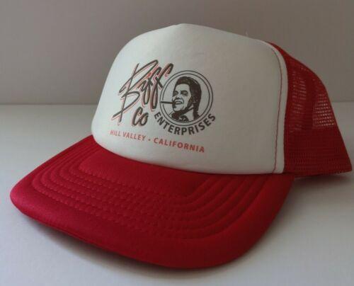 Biff Co Back to Future Inspiré Trucker Hat Cap-Rétro Film 80 s FILM