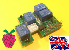 Rs-Pi  uln2803 4 relay - Step Motor Board  for Raspberry Pi