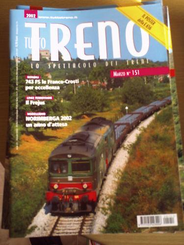 Tutto Treno 151 2002 Locomotive 743 FS Franco Costi