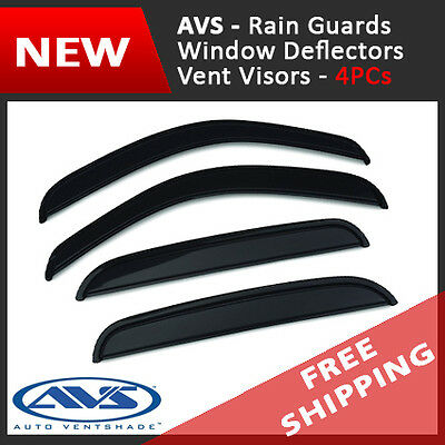 AVS Vent Visor Window Deflector Rain Guard for 2003-2008 Pontiac Vibe