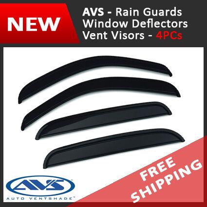 AVS Vent Visor Window Deflector Rain Guard for 2007-2010 Mitsubishi Outlander