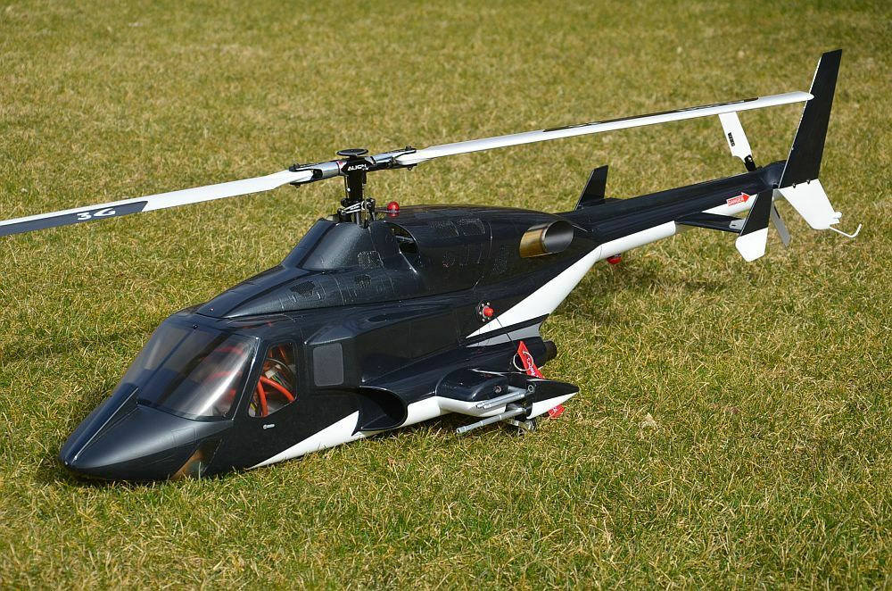 Airwolf  600  RTF align T-REX 550x + Axon Autopilot + GRAUPNER MZ 24 Pro