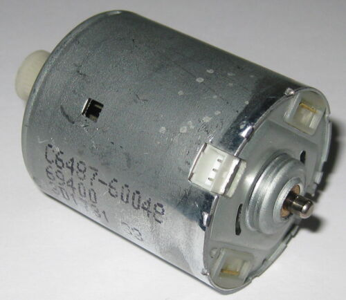 Low Current Draw 2800 RPM Electric Motor with Plastic Gear 12 V DC 3 Pin